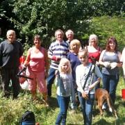 Volunteers spring clean 2012