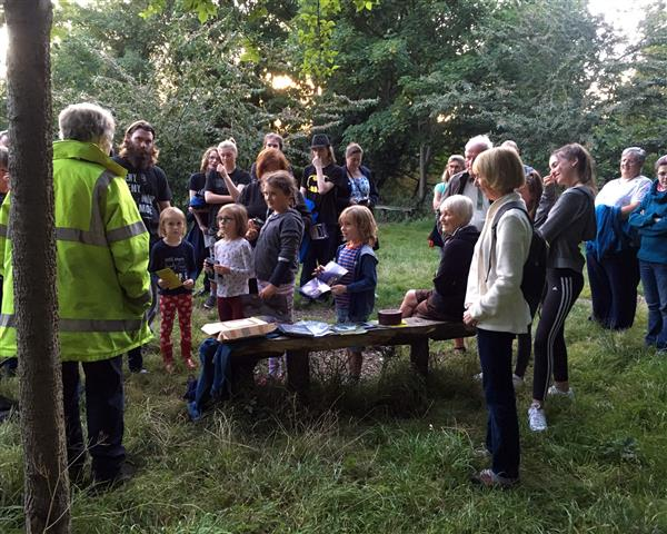 Shirley's talk prior to Bat Walk 26th Aug 17